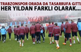 Trabzonspor orada da tasarrufa gitti! Her yıldan farklı olarak...