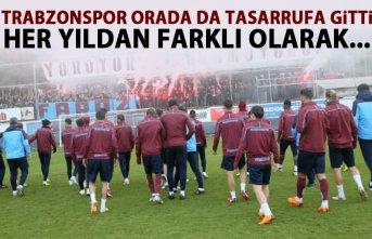 Trabzonspor orada da tasarrufa gitti! her yıldan...