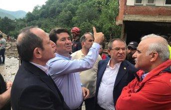 CHP Trabzon Milletvekili Ahmet Kaya'dan Araklı...