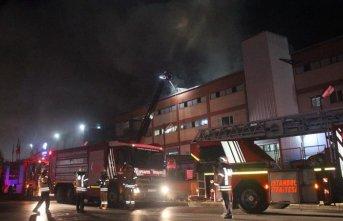 Fabrikada yangın: 4 ölü 2 yaralı