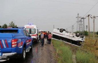Kaza: 27 turist yaralandı