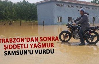 Trabzon'dan sonra sel orayı vurdu!