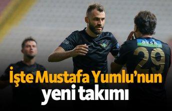 İşte Mustafa Yumlu'nun yeni takımı!