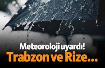 Meteroloji'den sağanak yağış uyarısı!