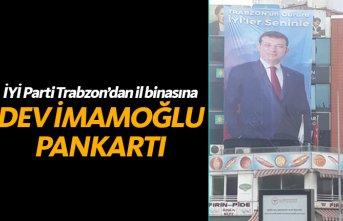 Trabzon'da İYİ Parti İmamoğlu'nu böyle kutladı