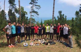 Trabzonlu hakemlerden örnek davranış