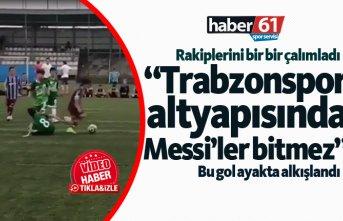 """Trabzonspor altyapısında Messi'ler bitmez"""