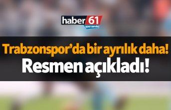 Trabzonspor'da ayrılık! Resmen açıkladı..