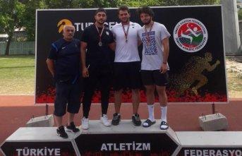 Osman Kul yine Türkiye Şampiyonu
