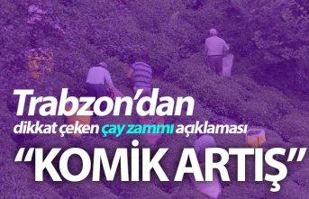 Trabzon'dan çay zammı için dikkat çeken açıklama!