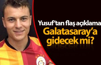 Yusuf Erdoğan'dan Galatasaray açıklaması
