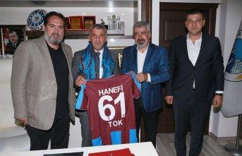 Trabzonspor 'dan Tok'a ziyaret