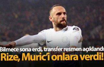 Vedat Muriç transferi resmen açıklandı!