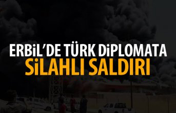 Erbil'de Türk diplomata saldırı!