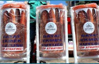 Bayat ekmekler yaban hayvanlarına gidiyor | Adıyaman Haberleri