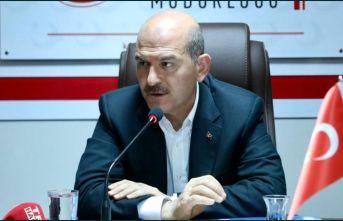 """Süleyman Soylu'dan göçmen açıklaması: """"Sınır..."""
