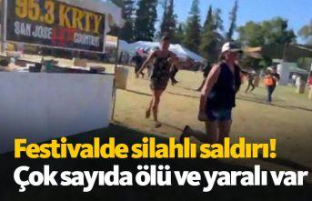 Festivalde silahlı saldırı! Çok sayıda ölü...