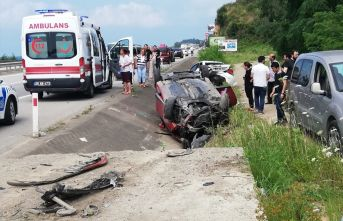 Torununun düğününe giderken kazada hayatını kaybetti