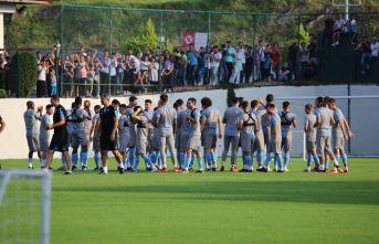 Trabzonspor, Prag maçı hazırlıklarına başladı