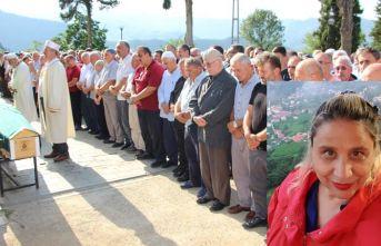 Otobüs yangınında hayatını kaybetti, Trabzon'da defnedildi