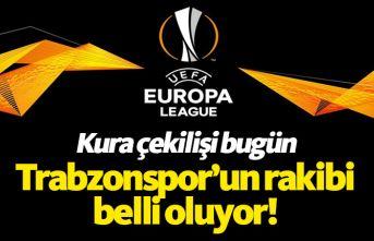 Trabzonspor'un rakibi bugün belli oluyor
