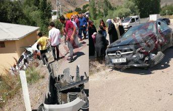 Gümüşhane Bayburt yolunda kaza - 3 yaralı