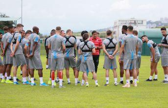 Trabzonspor, Sparta Prag maçı hazırlıklarının...