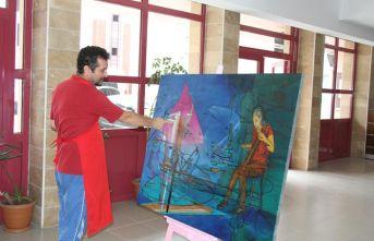 Akçaabat'ta 6. Uluslararası Resim Çalıştayı