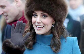 Düşes Kate Middleton'ın zor anları!