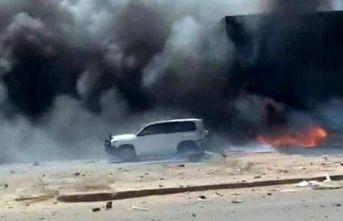 Bombalı araç infilak etti: 2 BM personeli hayatını...