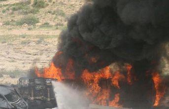 Petrol tankeri patladı: 57 ölü