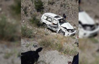 Bayburt'ta trafik kazası!