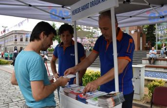 AFAD Trabzon'da vatandaşları bilgilendiriyor