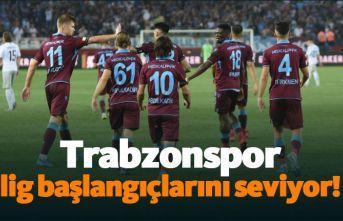 Trabzonspor lig başlangıçlarını seviyor!