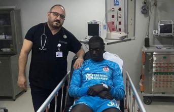 Beşiktaş maçında baygınlık geçiren Samassa taburcu oldu