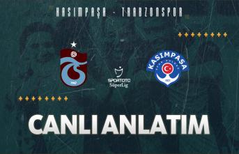 Kasımpaşa - Trabzonspor | CANLI ANLATIM