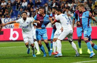 Kasımpaşa Trabzonspor maçında neler oldu?