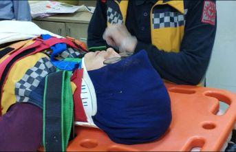Samsun'da ambulans ile kamyonet çarpıştı:...