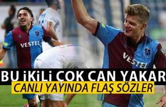 Erman Toroğlu'ndan Trabzonspor'un iki futbolcusuna...