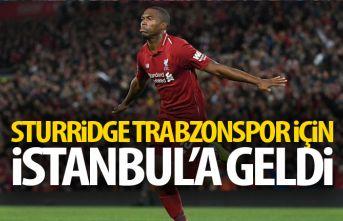 Sturridge İstanbul'a geldi!
