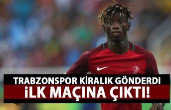 Trabzonspor'un kiralık gönderdiği Edgar Le...