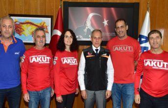 AKUT Trabzon'dan AFAD'a ziyaret