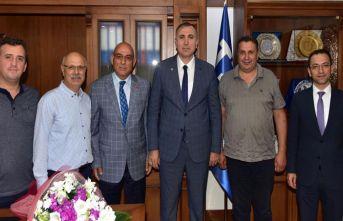 Başkanı Pehlivan'dan TESOB'a ziyaret