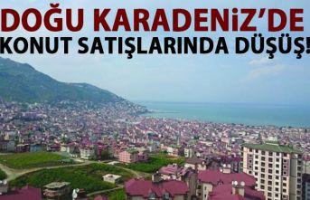 Doğu Karadeniz'de satılan konut sayısı yüzde...