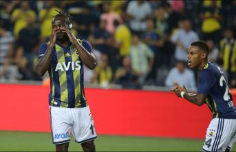 Fenerbahçe'nin yıldızı Trabzonspor maçında...
