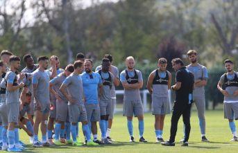 Trabzonspor'da AEK hazırlıkları