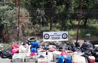 Adana'da kaçak tütün operasyonu!