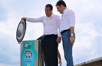 Trabzon'da bir ilk! Akçaabat'ta çöp konteynırları yer altına alınıyor