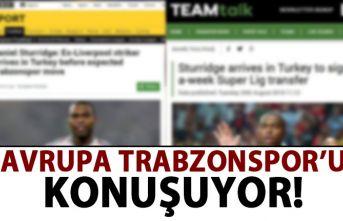 Avrupa Trabzonspor'u konuşuyor!