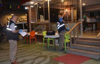 Samsun'da iki işyeri kurşunlandı